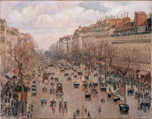 Boulevard de Montmartre - Camille Pissarro