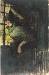 Model al taller de l'artista - 1900 - Pastel, carbó i llapis Conté sobre paper - 24 × 16 cm - Col·lecció privada